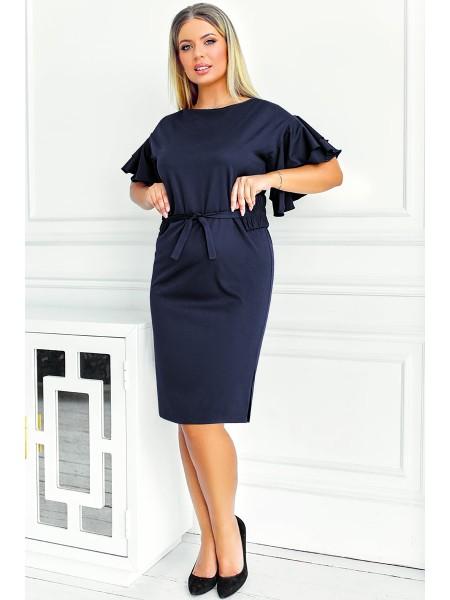 Элегантное платье с воланами Санторини
